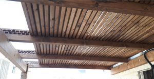 פרגולות עץ למרפסת באיכות גבוהה